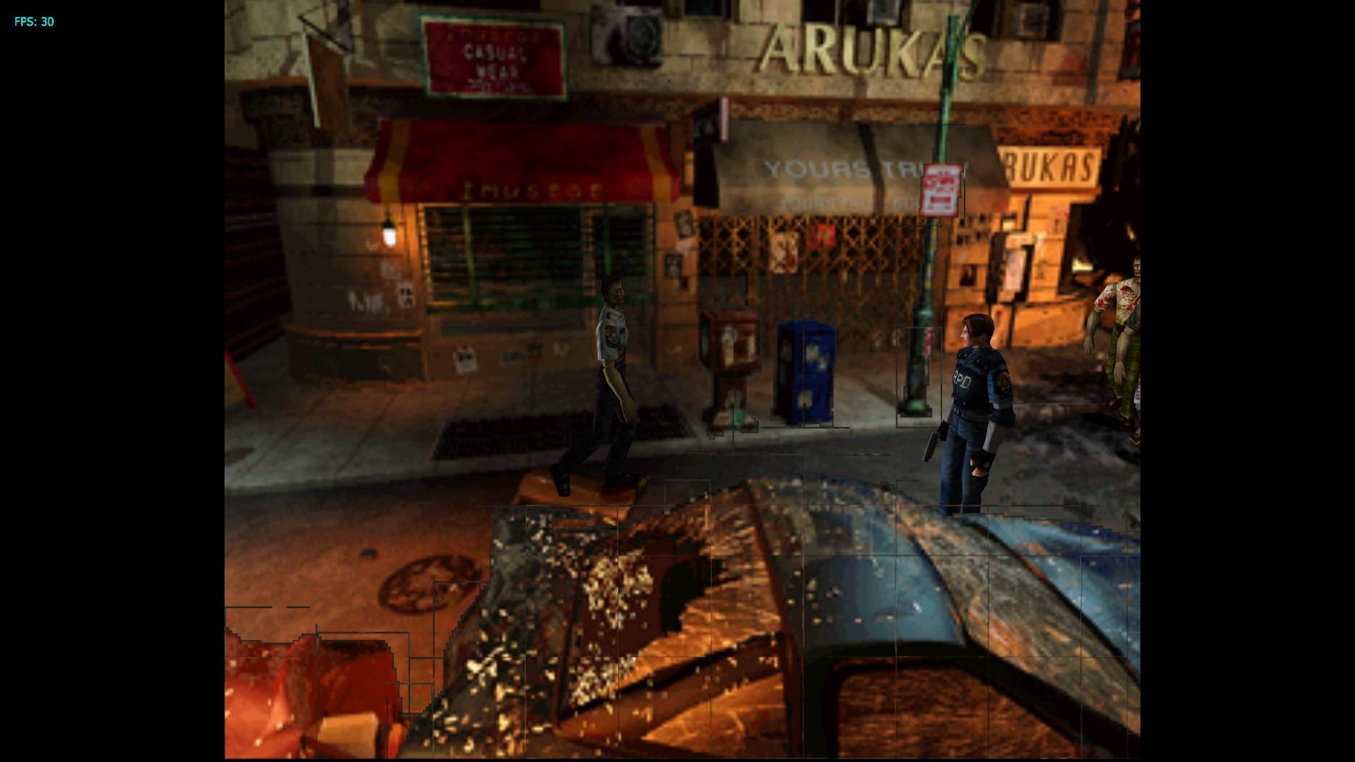 Resident Evil 2 High-Res UI Textures [v2 2] [NTSC-GHAE08]