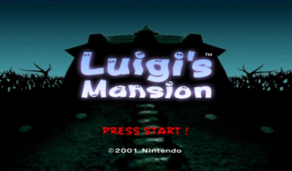 Gc Luigi S Mansion